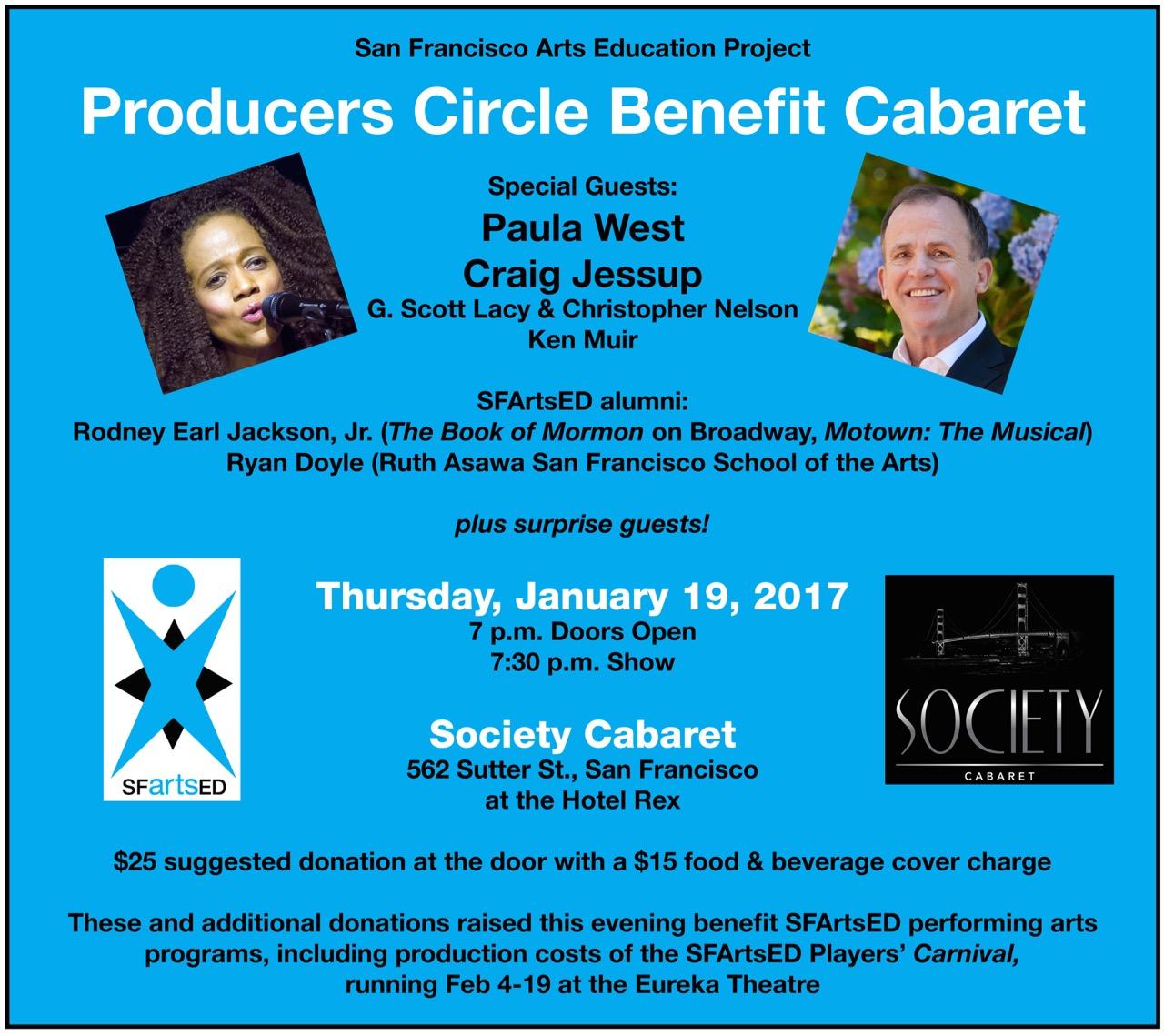 Benefit Cabaret on Jan. 19
