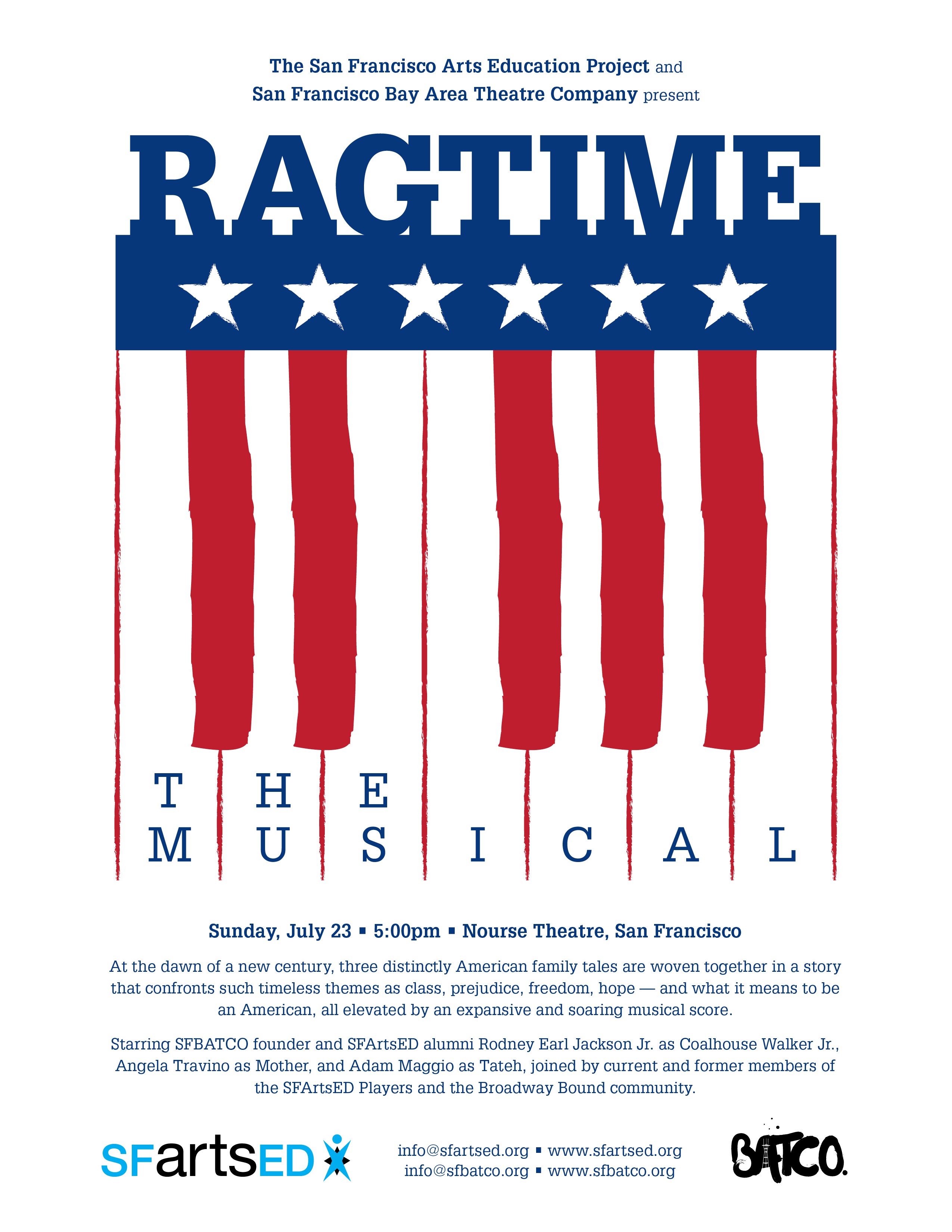 One night only: Ragtime